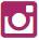 Donkerroze logo van Instagram