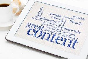 woorden die met geweldige content te maken hebben