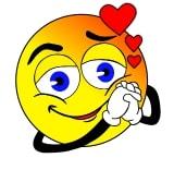 gelukkige emoji