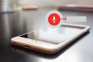 voice search mobiele telefoon